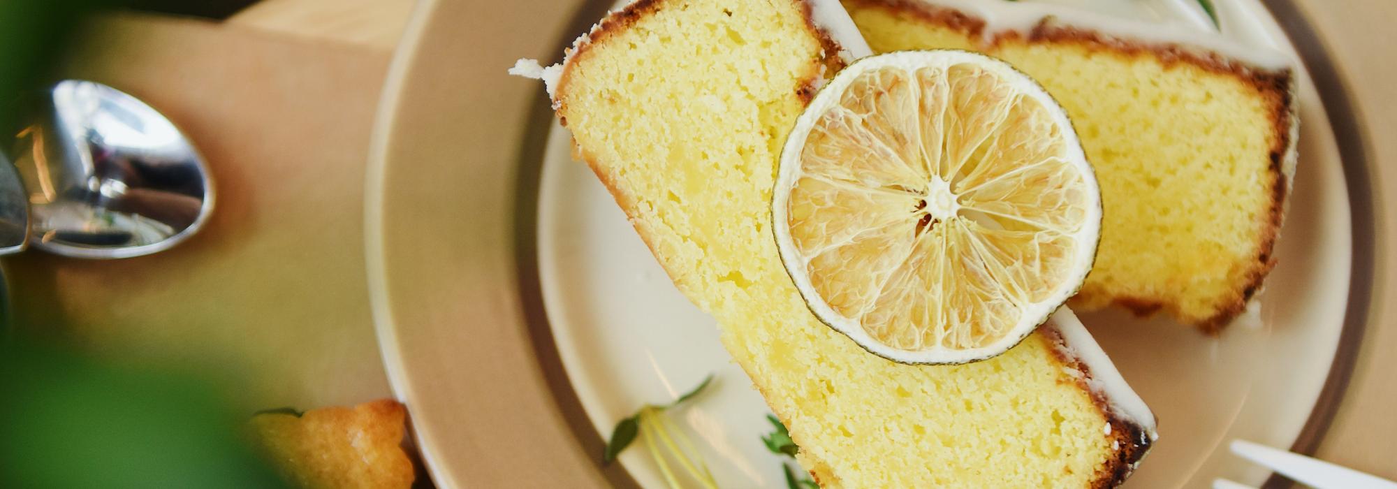 Sliced Lemon Loaf